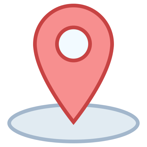 Picture of a map pin icon