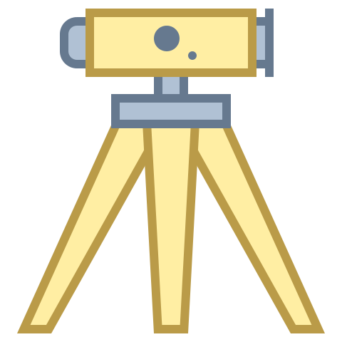 Picture of land survey scope icon